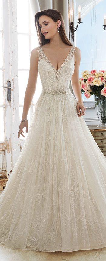 Sophia Tolli Demeter Wedding Dresses Lace Ballgown Sophia Tolli Wedding Dresses Ball Gowns Wedding,Casual Summer Beach Wedding Dresses
