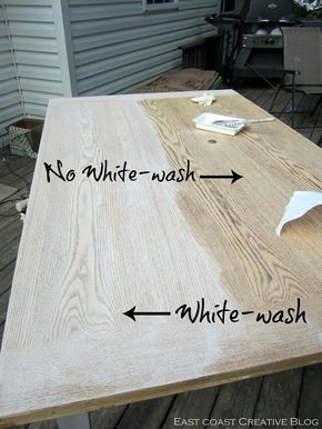 Refinished Dining Room Table Furniture Makeover Pine Furniture
