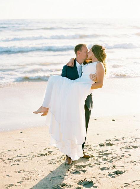 We are having beach wedding dreams of our #EddyKBride Claire in style EK1243! #weddingdress #weddingdresses #weddingoutfit #bride #weddingdressdesigner #bridestyle #weddinggown #ALineWeddingDress #ALineWeddingGown #beachwedding #destinationwedding