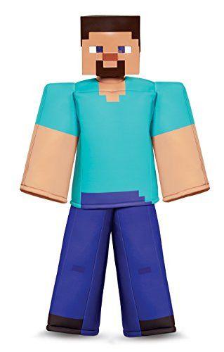 Disguise Creeper Prestige Minecraft Boys Costume Green Medium 7-8