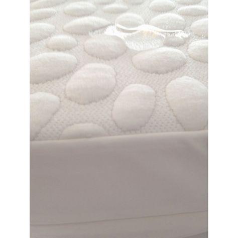 My Little Nest Pebbletex Quilted Organic Cotton Waterproof Mattress Pad Mposp2852 8 Mattress Protector Mattress Mattress Pad