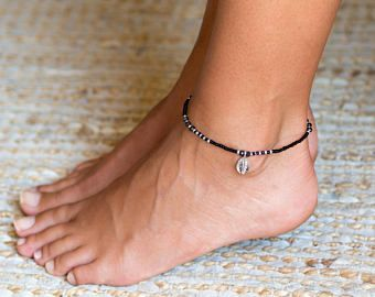 Double Strand Turquoise Anklet  Turquoise Ankle Bracelet  Anklets For Women  Women Anklet  Indian Anklet  Beach Anklet Brass