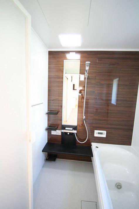 バス みどりと風工房 施工実例 バスルーム ユニットバス バスルームの色