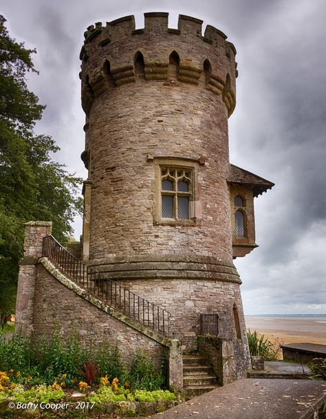 Appley Towers in Ryde - Isle of Wight, England Medieval Tower, Medieval Houses, Medieval Castle, Tower House, Castle House, Beautiful Castles, Beautiful Places, Castle Ruins, Tower Castle