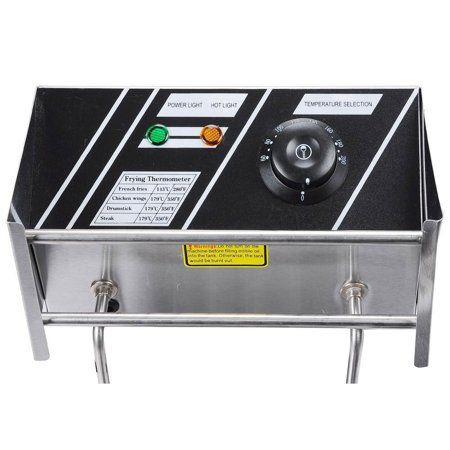 12l 5000w Commercial Deep Fryer Stainless Steel Electric Countertop Dual Tank For Restaurant Walmart Com In 2019 Electric Fryer Electric Deep Fryer Stainless Steel Grill