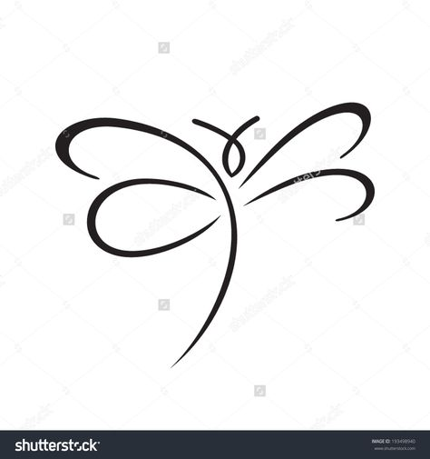 Butterfly Sign Branding Identity Corporate Vector Stock Vector (Royalty Free) 193498940