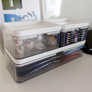 ヘアブラシの収納アイデア 洗面所整理におすすめの収納グッズ 無印