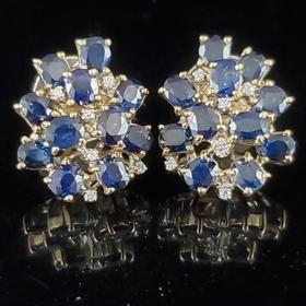 24+ Estate Jewelry Diamond Earrings PNG