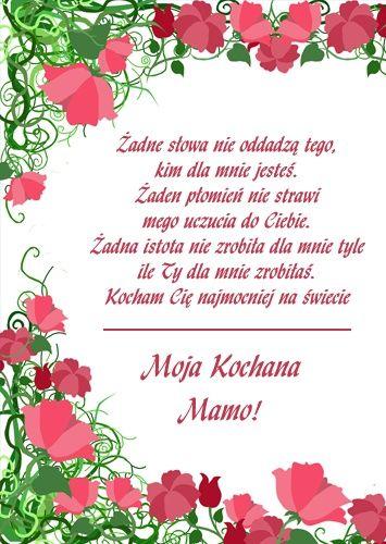 Zadne Slowa Nie Oddadza Tego Kim Dla Mnie Jestes Cytaty O Matkach I Corkach Prawdziwi Przyjaciele Dzien Matki