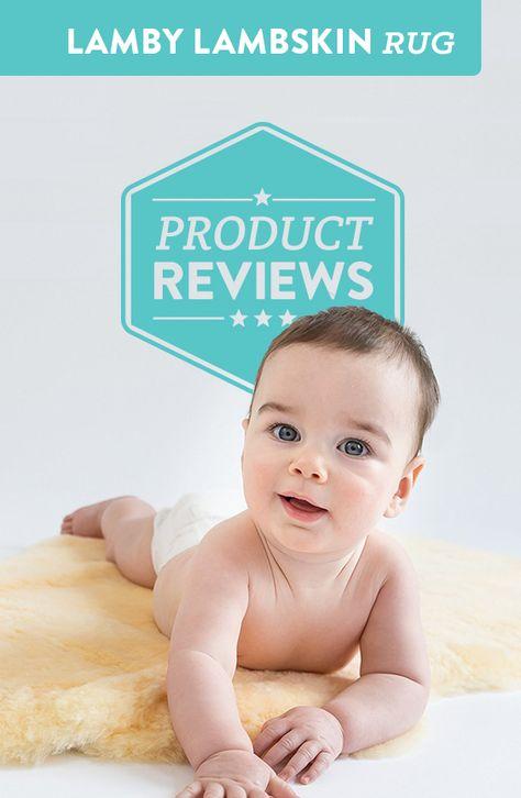 Lamby Lambskin Cuddle Rug Review Lambskin Rug Cuddling Baby
