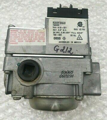 Ad Ebay Robertshaw 7200er 7a4 A1b 001 720 40b Furnace Gas Valve