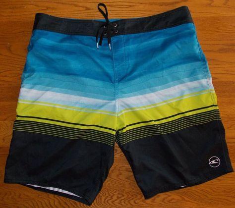 O'Neill Men's Board Shorts Size 38 #fashion #clothing #shoes #accessories #mensclothing #swimwear (ebay link)