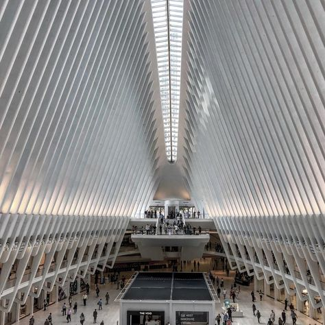 Found this architecture quite impressive....   Found this architecture quite impressive. #newyorkcity #oculus #worldtradecenter #911 #remember #new #mall #shopping #shoppingmall #architecture #amazing #view #usa #vacation #traveltheworld #seetheworld #discover #lightning #newplace #perspective