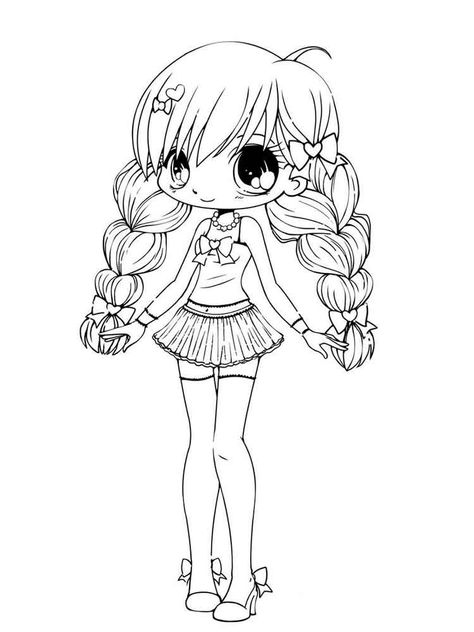 List of copic coloring pages free printable girls pictures ...