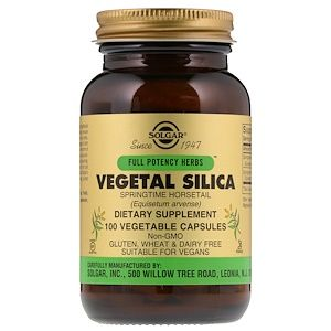 Solgar السيليكا النباتية 100 كبسولة خضروات Iherb Com Vegetable Capsules Herbs Turmeric Root Extract