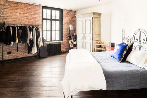 Inside+Kirsten+Dunst's+Stylish+Bohemian+Penthouse+via+@domainehome