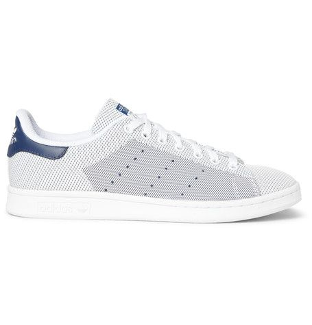 adidas Originals Stan Smith Mesh Sneakers | MR PORTER | Shoes Sakir likes |  Pinterest | Original stan smith, Stan smith and Mr porter