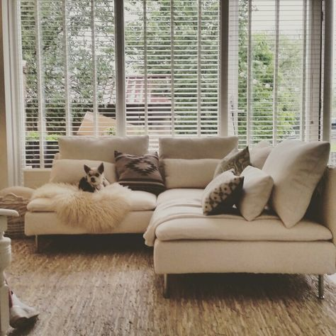 Cool Soderhamn Sofa By Ikea Super Comfy And Stylish Fits Onthecornerstone Fun Painted Chair Ideas Images Onthecornerstoneorg