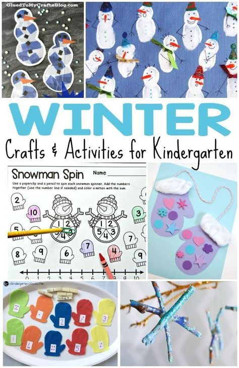 Photo of 50+ Kids' Winter Activities and Crafts for Kids
