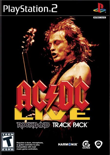 AC/DC Live Rock Band Track Pack ps2 iso rom download | Gaming