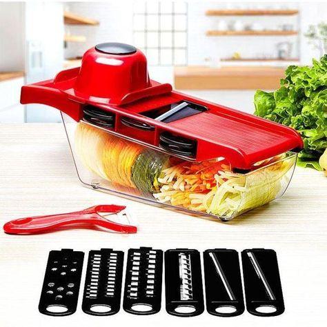 New Manual Vegetable Cutter Food Chopper Mandoline Slicer