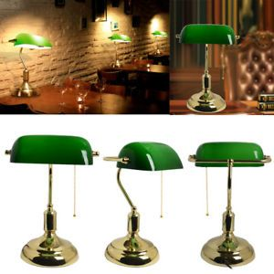 Traditional Green Desk Lamp Best Bankers Reviews