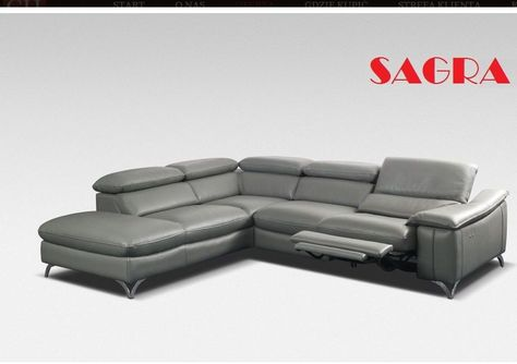 New LEATHER Corner Sofa Boston WHITE GREY BROW BLACK FABRIC 2 3 Seater  SAGRA In Home, Furniture U0026 DIY, Furniture, Sofas, Armchairs U0026 Suites   EBay  ...