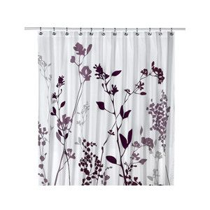 Fresh Design Black And Purple Shower Curtain Sensational