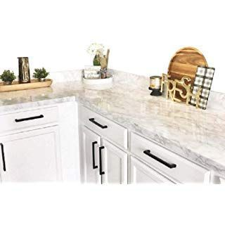 Amazon Com Instant Granite Italian White Marble Counter Top Film