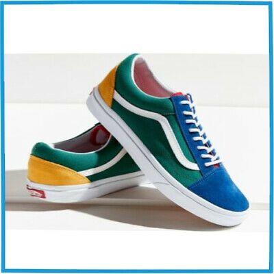 Ad)eBay Vans Old Skool Yacht Club Yellow Blue Green and