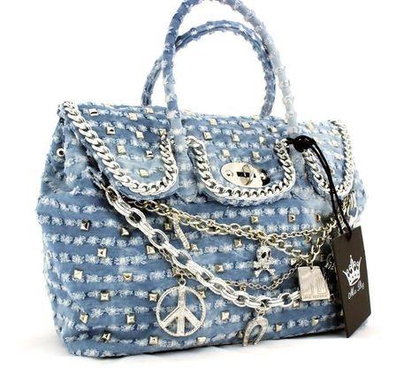 Mia Bag Blu Denim MTV | Mia Bag Winter 2013 14 | Bags