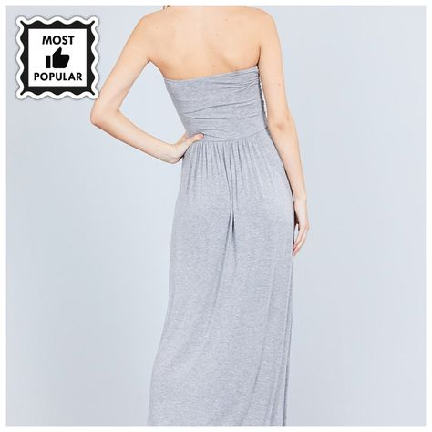 6eb21ceafdf04 Rayon Modal Spandex Tube Top Maxi Dress #fashion #clothes #accessories # value #quality #plus #jewelry #cute #sale #beauty