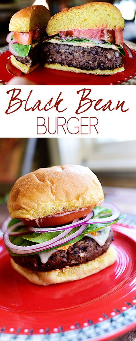 Black Bean Burger Recipe | Grilling & BBQ | Summer Cookour