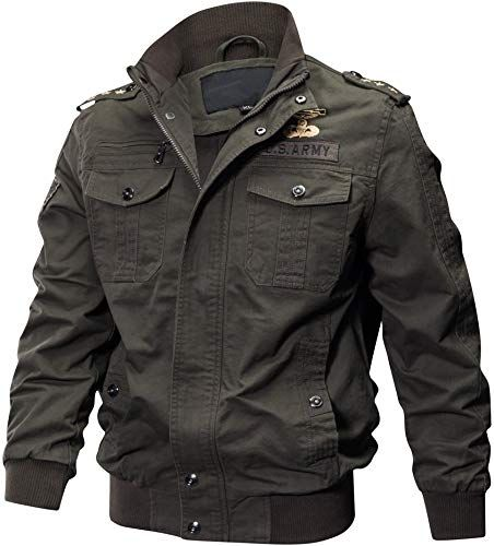Amazing Offer On Men S Casual Cotton Military Jackets Outdoor
