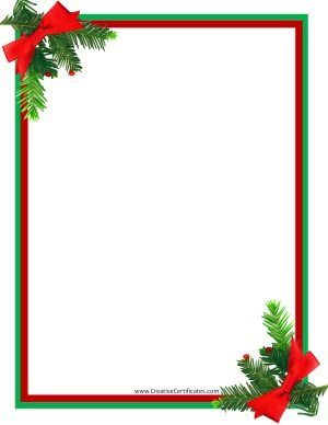 picture relating to Free Printable Christmas Borders named Christmas border Things I require in the direction of produce Cost-free xmas borders