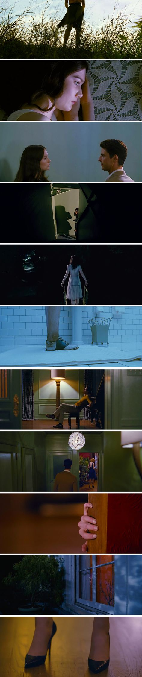 Stoker (2013) Instantly became a favourite film for me. I love so many things about it and the cinematography is beautiful!