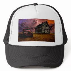 Entropy Baseball Trucker Hat Hats Trucker Hat