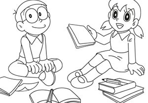 100 best Doraemon Coloring Pages images on Pinterest Doraemon