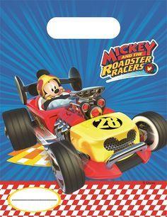 Bolsitas Para Fiesta De Mickey Y Los Super Pilotos Ya