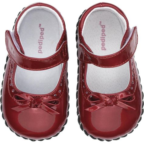 UMI Pink White Print Leather Mary Jane Shoes Toddler Girls Size EU 20// US 5