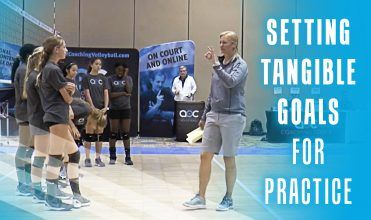 Setting Tangible Goals For Practice Coaching Volleyball Goals Practice
