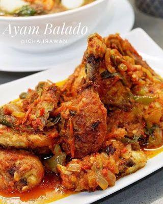 Ayam Goreng Balado Ayam Goreng Resep Ayam Resep Masakan