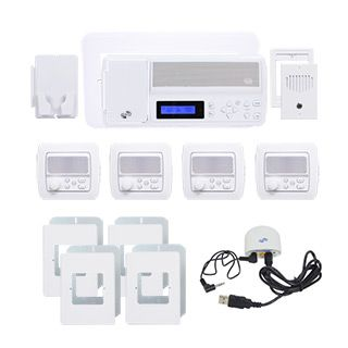Intrasonic Retro Intercom System With Bluetooth Replaces Nutone 4 Room Retro Intercom System With Bluetooth Replaces Nuto Intercom Portable Music Player In Wall Speakers