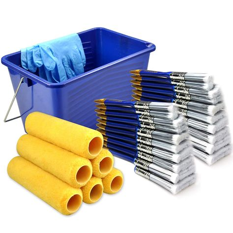 Amazon 31 Piece Paint Roller Covers 9 Inch Paint Roller Paint Brush Paint Brushes Paint Bucket Just 16 14 Reg 59 99 As Of 12 19 2018 10 32 Pm Cst Paint Buckets Paint Brushes Value Painting
