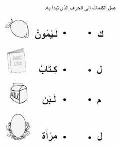 توصيل الحروف Language Arabic Grade Level Kg School Subject اللغة العربية Main Content Arab Arabic Alphabet For Kids Learn Arabic Alphabet Alphabet For Kids