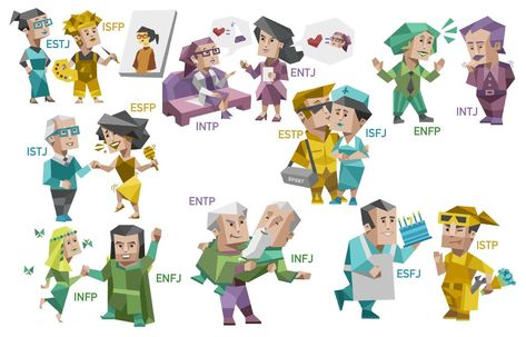 Not mine but I found it really cute. Thoughts? : mbti