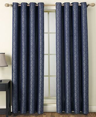 Victoria Clics Window Treatments Riverwalk 55 X 84 Panel Curtains D For The Home Macy S Pinterest