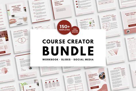 Course Creator 150+ Templates Bundle