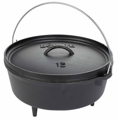 Lodge Round Dutch Oven Size: 10 Qt.