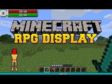 Rpg Hud Mod 1 7 10 1 7 2 Fdminecraft Rpg Minecraft Minecraft